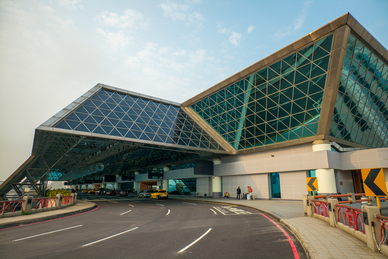 Taipei Taoyuan International Airport (TPE) serves Taipei in Taiwan.